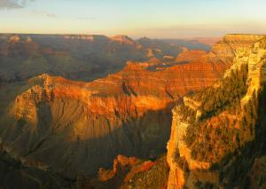 Grand Canyon - vortex of power, each peak is named a 'temple' and revered by local Native American tribes