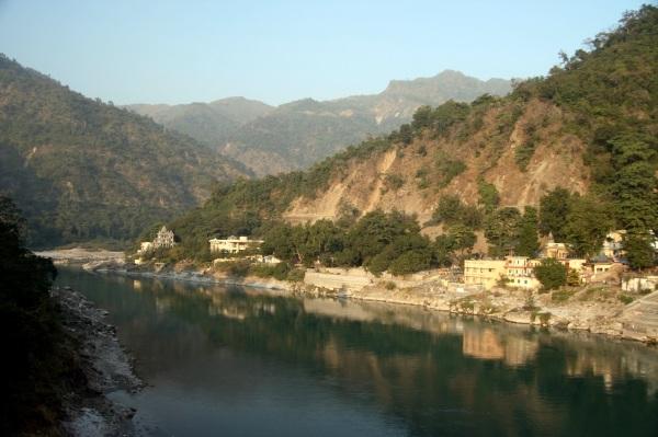 Ganges River at Rishikesh