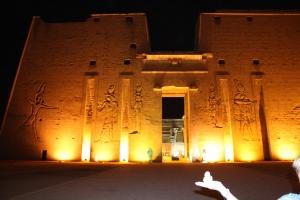 Buddha in Egypt at Night