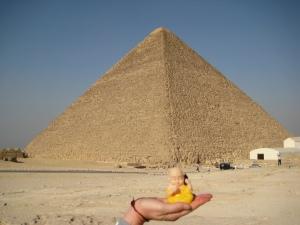 Buddha by Pyramid
