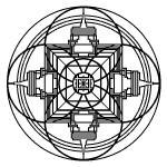 Tibetan Mandala Schematic