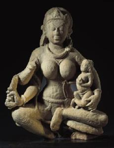 Early Hindu Mother Goddess, Norton Simon Museum Collection