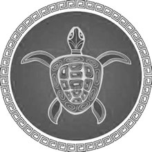 Turtle as symbol of motherhood
