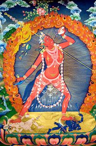 Vajrayogini, sometimes called Queen of the Dakinis