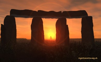 Sunrise at Stone Henge